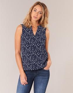 Oblečenie Ženy Blúzky Vero Moda VMBALI Námornícka modrá