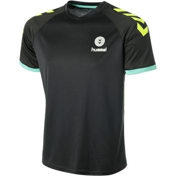 Oblečenie Muži Tričká s krátkym rukávom Hummel Maillot  Trophy noir/vert/jaune
