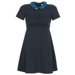 Oblečenie Ženy Krátke šaty Manoush COMMUNION Modrá