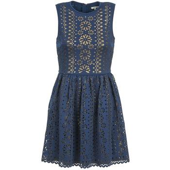 Oblečenie Ženy Krátke šaty Manoush NEOPRENE Modrá / Zlatá