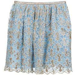 Oblečenie Ženy Sukňa Manoush ARABESQUE Modrá / Zlatá