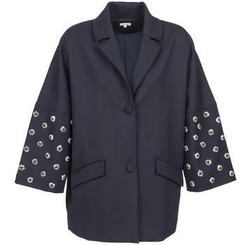Oblečenie Ženy Kabáty Manoush CABOCHON Námornícka modrá