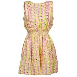 Oblečenie Ženy Krátke šaty Manoush FLAMINGO Ružová / Fluorescent / Žltá