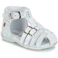Topánky Dievčatá Sandále GBB SAMIRA Biela