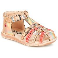 Topánky Dievčatá Nízke tenisky GBB PERLE Ružová / Metalická