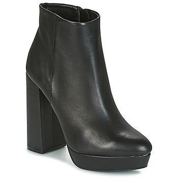 Topánky Ženy Čižmičky Buffalo  Čierna