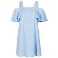 Oblečenie Ženy Krátke šaty Guess RACUNO Modrá