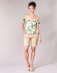 Oblečenie Ženy Šortky a bermudy Guess BENARIO Béžová