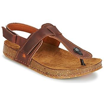 Topánky Ženy Sandále Art WE WALK Hnedá