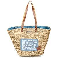Tašky Ženy Veľké nákupné tašky  Les Tropéziennes par M Belarbi AGAY Béžová / Modrá