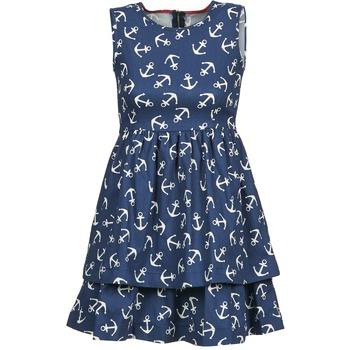 Oblečenie Ženy Krátke šaty Kling ANCORINE Námornícka modrá