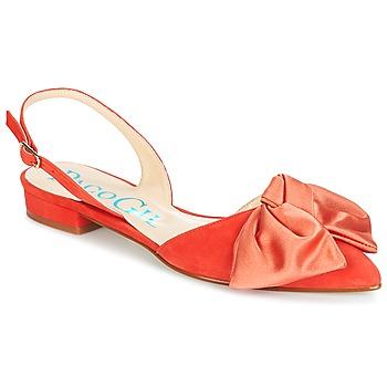 Topánky Ženy Sandále Paco Gil MARIE TOFLEX Červená