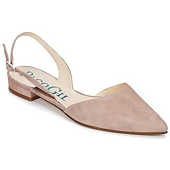 Topánky Ženy Sandále Paco Gil MARIE TOFLEX Svetlá telová