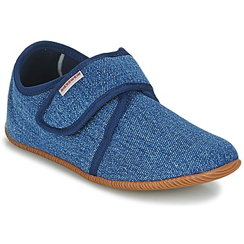Topánky Deti Papuče Giesswein SENSCHEID Modrá