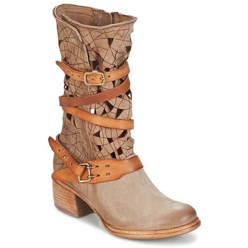Topánky Ženy Polokozačky Airstep / A.S.98 CRUZ Béžová