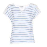 Oblečenie Ženy Blúzky Casual Attitude IYUREOL Biela / Modrá