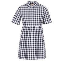 Oblečenie Ženy Krátke šaty Moony Mood IKAMAL Biela / Čierna