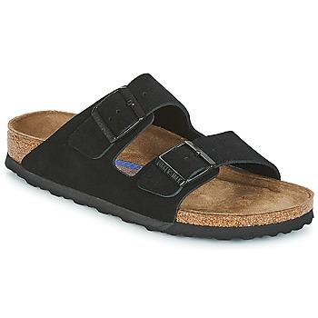 Topánky Ženy Šľapky Birkenstock ARIZONA SFB Čierna