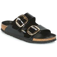 Topánky Ženy Šľapky Birkenstock ARIZONA BIG BUCKLE Čierna