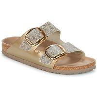 Topánky Ženy Šľapky Birkenstock ARIZONA BIG BUCKLE Zlatá