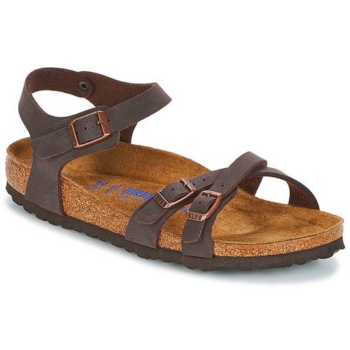 Topánky Ženy Sandále Birkenstock KUMBA SFB Hnedá