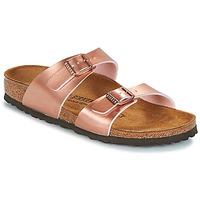 Topánky Ženy Šľapky Birkenstock SYDNEY Ružová / Zlatá