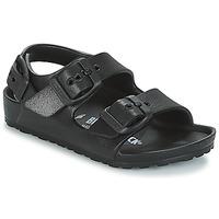 Topánky Chlapci Sandále Birkenstock MILANO-EVA Čierna