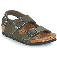 Topánky Chlapci Sandále Birkenstock MILANO Zelená
