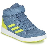 Topánky Chlapci Členkové tenisky adidas Performance ALTASPORT MID EL K Modrá