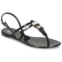 Topánky Ženy Sandále Karl Lagerfeld JELLY KARL ICONIK Čierna
