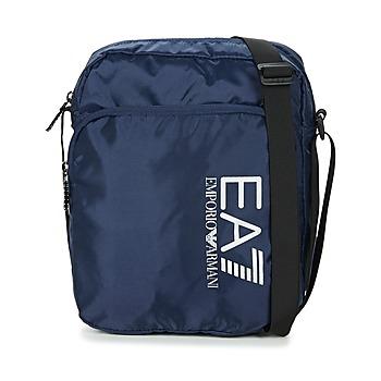 Tašky Muži Vrecúška a malé kabelky Emporio Armani EA7 TRAIN PRIME U POUCH BAG LARGE B Námornícka modrá