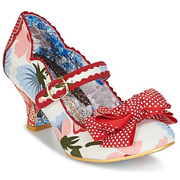 Topánky Ženy Lodičky Irregular Choice BALMY NIGHTS Biela / Červená