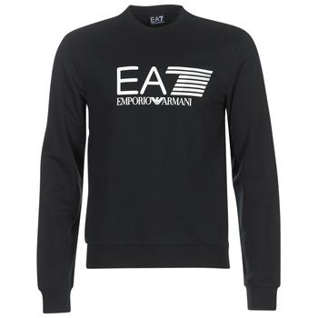 Oblečenie Muži Mikiny Emporio Armani EA7 TRAIN VISIBILITY Čierna