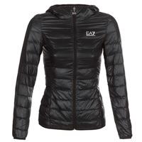 Oblečenie Ženy Vyteplené bundy Emporio Armani EA7 TRAIN CORE LADY Čierna