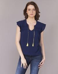 Oblečenie Ženy Blúzky Betty London INNATIMBA Námornícka modrá