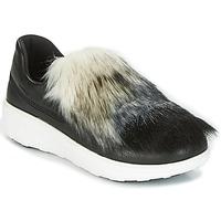 Topánky Ženy Slip-on FitFlop LOAFER Čierna