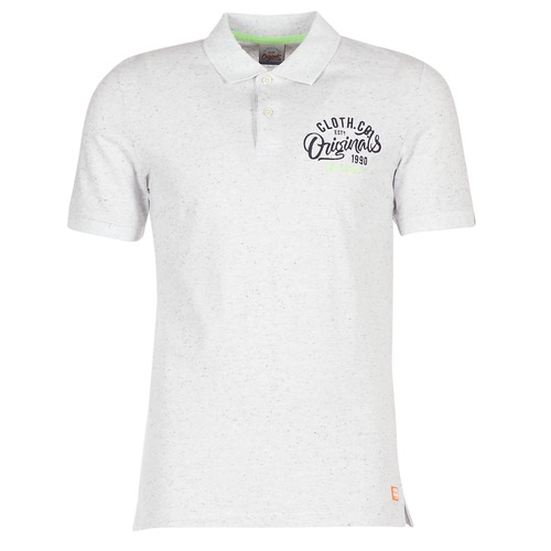 Oblečenie Muži Polokošele s krátkym rukávom Jack & Jones JORTRAST Biela