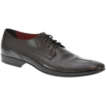 Topánky Muži Derbie Basso Lavagio PÁNSKE ČIERNE POLTOPÁNKY ARNY čierna