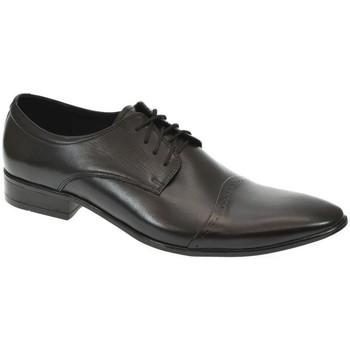 Topánky Muži Derbie Basso Lavagio PÁNSKE ČIERNE POLTOPÁNKY BENTON čierna