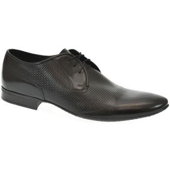 Topánky Muži Derbie Basso Lavagio PÁNSKE ČIERNE POLTOPÁNKY FOWLER čierna