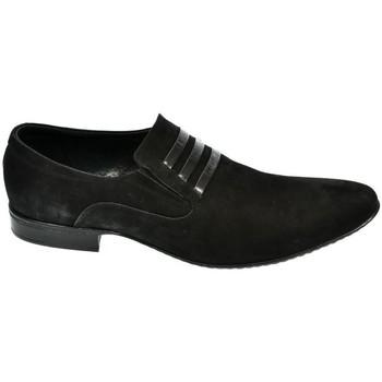 Topánky Muži Mokasíny Basso Lavagio ČIERNE POLTOPÁNKY BRUNO ITALY 168 čierna