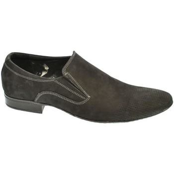 Topánky Muži Mokasíny Basso Lavagio PÁNSKE ČIERNE POLTOPÁNKY LEVON čierna