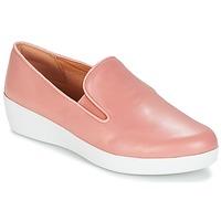 Topánky Ženy Slip-on FitFlop SUPERSKATE Ružová