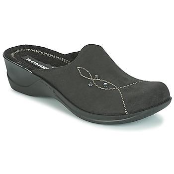Topánky Ženy Šľapky Romika VILLA 125 Čierna