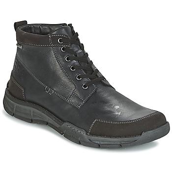 Topánky Muži Členkové tenisky Josef Seibel PHIL 03 Čierna