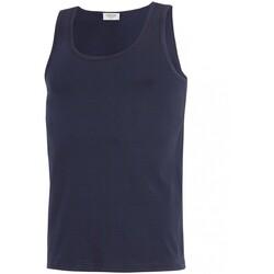 Oblečenie Muži Tielka a tričká bez rukávov Impetus GO30024 039 Modrá