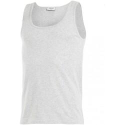 Oblečenie Muži Tielka a tričká bez rukávov Impetus GO30024 073 Šedá