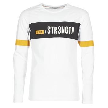 Oblečenie Muži Tričká s krátkym rukávom Jack & Jones JCOACE-TEE-LS-CREW-NECK Biela