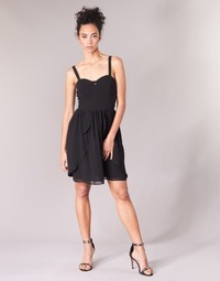 Oblečenie Ženy Krátke šaty Naf Naf LENY R1 Čierna