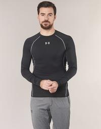 Oblečenie Muži Tričká s dlhým rukávom Under Armour LS COMPRESSION Čierna
